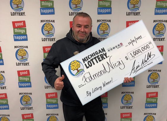 Edmond Nicaj USA Powerball Lottery Winner
