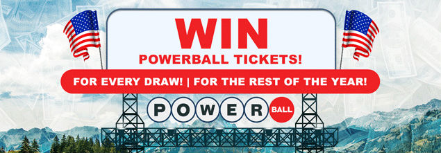 Win FREE Powerball Tickets For The Rest Of The Year