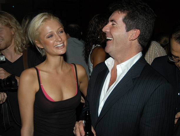simon cowell and paris hilton